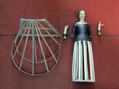 skelet van O.LV.-beeld