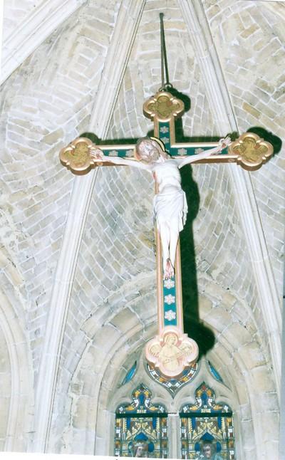 Jezus aan het kruis, calvarie