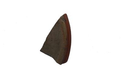 Fragment van drinkschaaltje uit Siegburg.
