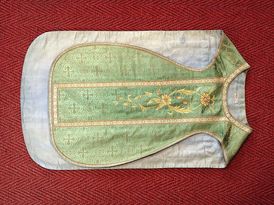 groene kazuifel, kelkvelum, priesterstolastola
