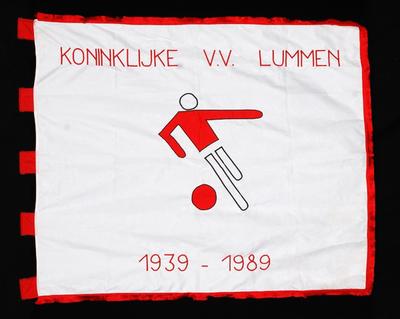 Vlag van KVV Lummen