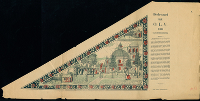 Bedevaartvaantje, O.L.V. van Scherpenheuvel, Scherpenheuvel