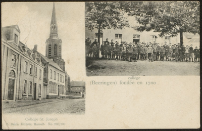 collège(Beeringen) fondée en 1700. College St. Joseph