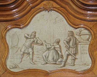 Marteldood van de heilige Odilia van Hoei