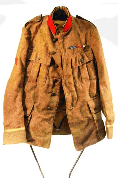 Uniform van een infantrist