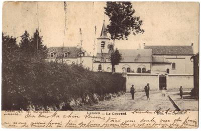 Landen, Het klooster - Le couvent