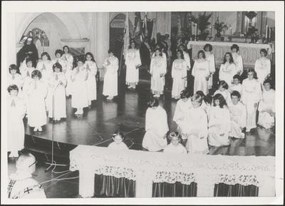 Zilveren priesterjubileum Jan Peeters (1958) - misdienst.