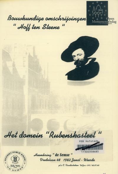 Bouwkundige omschrijving ; het domein Rubenskasteel