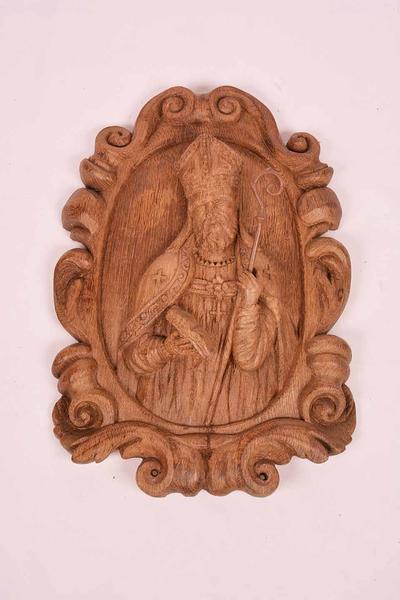 Bas-reliëf met voorstelling van H. Domitianus (?)