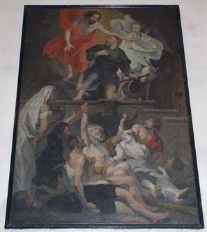 apotheose van de Heilige Rochus
