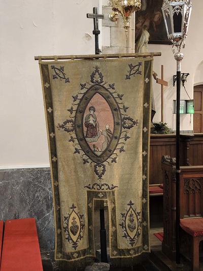 processievaandel Maria en H. Franciscus