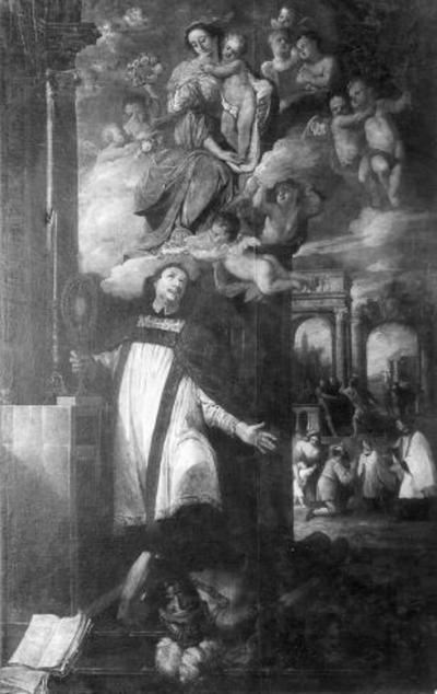 De heilige Nicolaas van Poppel, één van de martelaren van Gorkum
