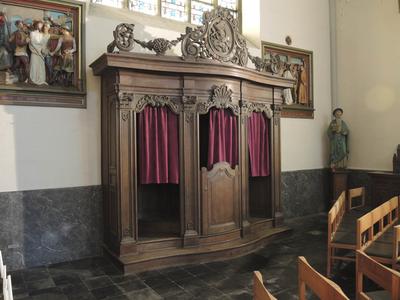 biechtstoel pastoor