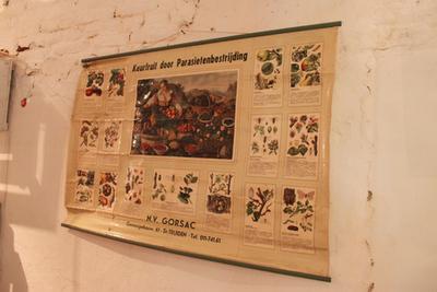 Affiche over hoe de teler keurfruit kan verkrijgen