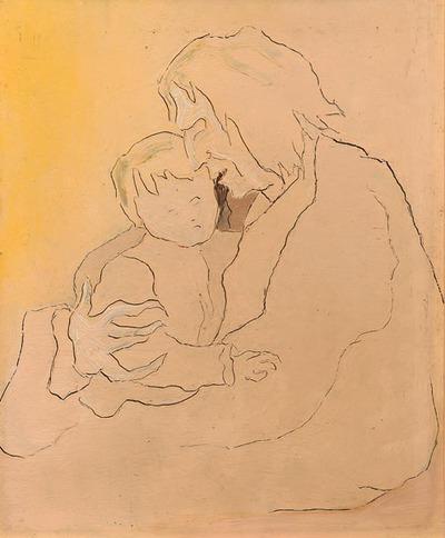 Moeder en dood kind