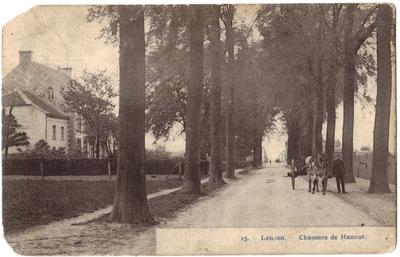 Landen. Hannuitse Steenweg - Chaussée de Hannut