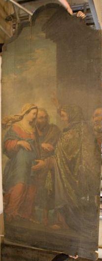 Maria ontmoet haar nicht Elisabeth