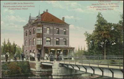 Lanklaer (in de Maasvallei). Het schoonste hoekje van Limburg. Gasthof Beau-Séjour Lanklaer (dans la vallée de la Meuse). Le plus beau coin du Limbourg. Hôtel Beau-Séjour