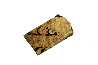 Fragment van kook- of drinkpot.
