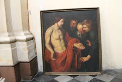 Jezus laat zijn wonden zien
