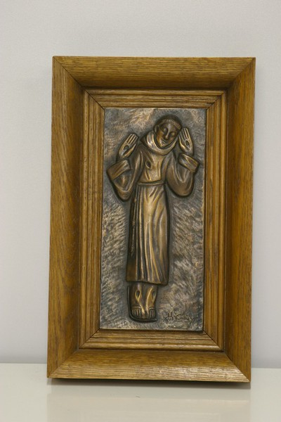 Heilige Franciscus van Assisi met stigmata