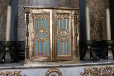het tabernakel van het Onze Lieve Vrouwaltaar