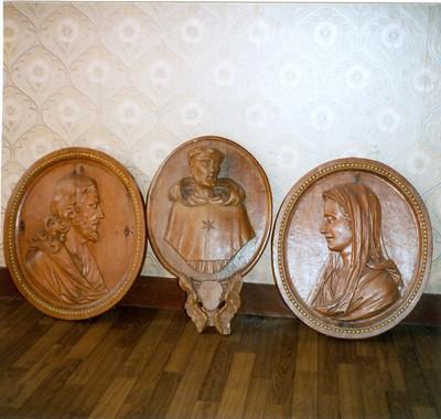 buste Onze-Lieve-Vrouw, buste Onze-Lieve-Heer