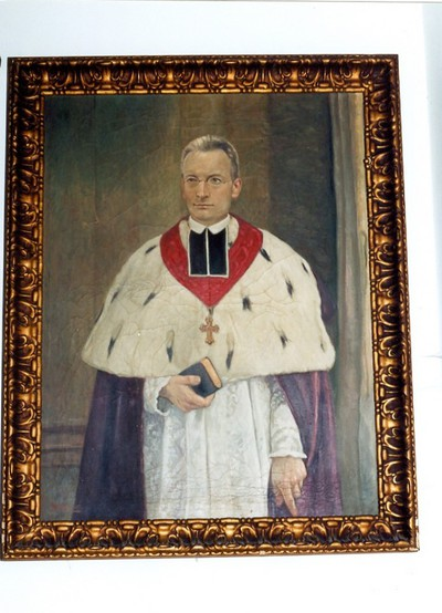 portret van Kanunnik H.H. Rutten