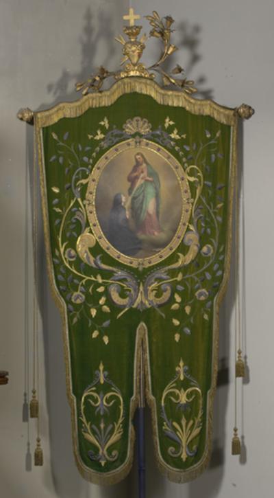 Processievaandel van Margareta Maria Alacocque
