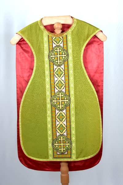 Groen kazuifel en stola