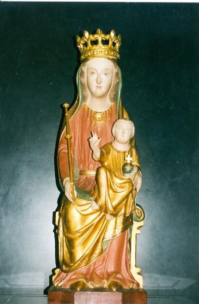Onze-Lieve-Vrouw met Kind, Sedes Sapientiae