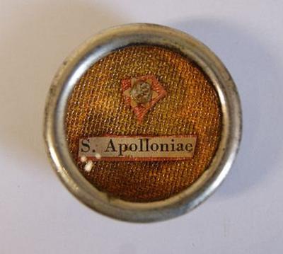 Reliekoog van de heilige Apollonia