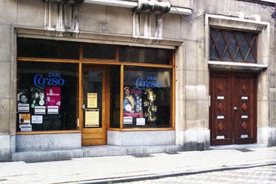 Uitstalraam Theater Corso
