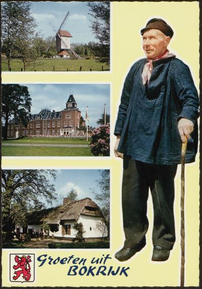 Domein Bokrijk. Kasteel en beelden uit het Vlaamse Openluchtmuseum