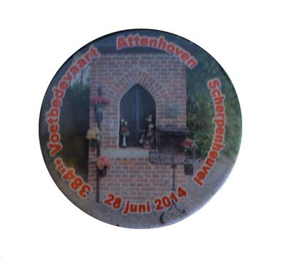 aandenken 384ste bedevaart Attenhoven-Scherpenheuvel
