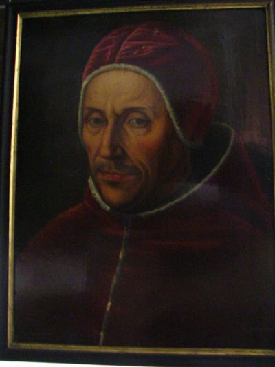 Portret van paus Adrianus VI