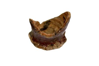 Buik en bodem van een drinkkruik uit Langerwehe.