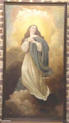 schilderij - icoon, Maria hemelvaart