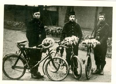 Mecaniciens van de Cyclisten.
