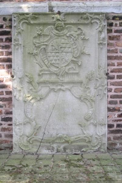 Epitaaf van Willem Bartholomeus Nivar