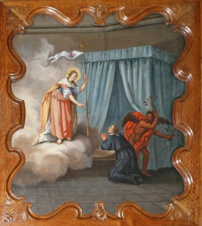 Tweede verschijning van de heilige Odlilia van Hoei aan Johannes van Eppa