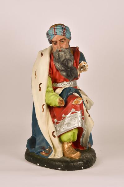 Kerststalfiguur 'Koning Melchior'