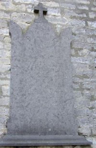 Grafsteen van Guillaume Joseph Scheys en Anne Marie Stroobants