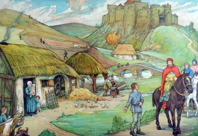5. De lijfeigenen in de omgeving van het versterkt kasteel