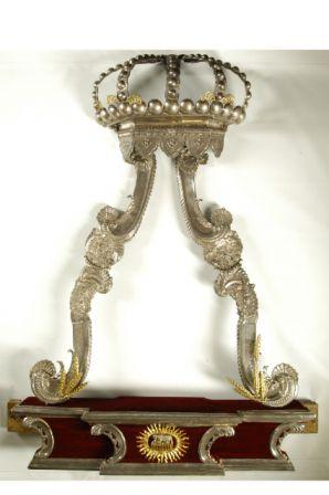 kroon van het baldakijn