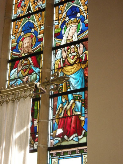 heilige harten van Jezus en Maria