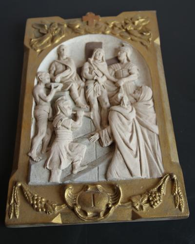 statie 01: Jesus wordt (ter dood) veroordeeld