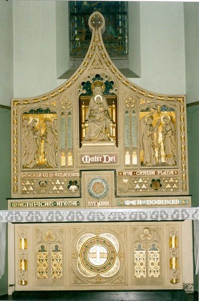 Zijaltaar heilige Maria
