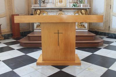 Conciliealtaar Sacramentskapel