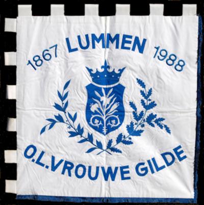 Banier van O.-L.-Vrouwgilde Oostereinde 1988